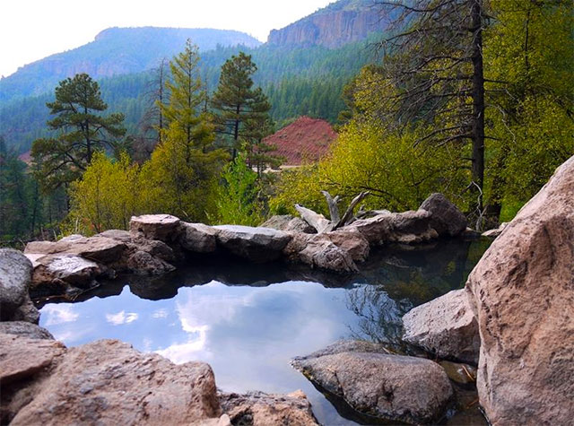 new mexico hot springs locations